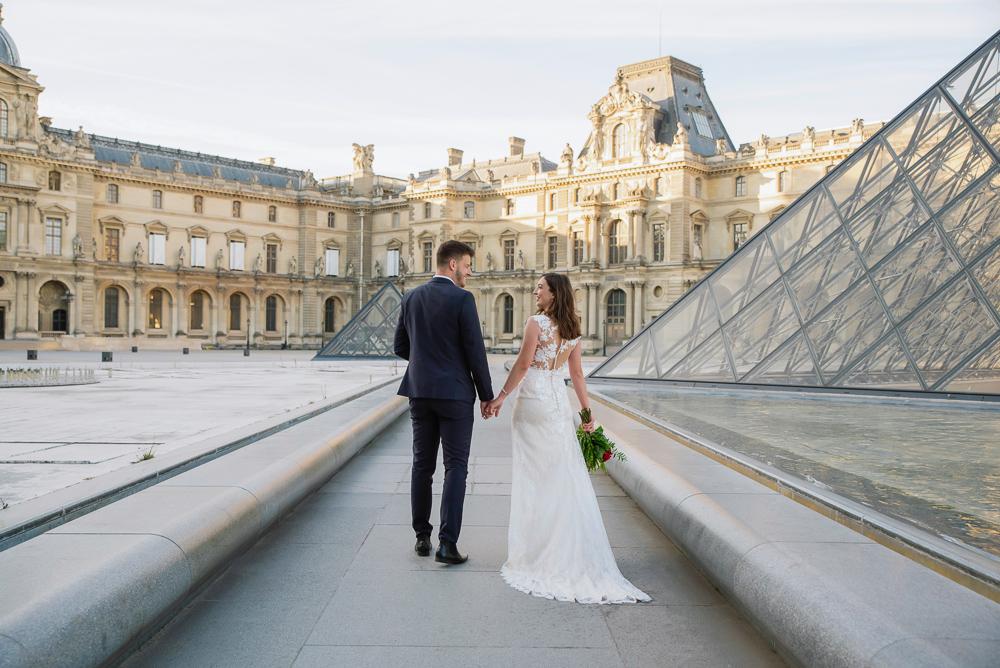 Wedding photoshoot in Paris by Pierre 43