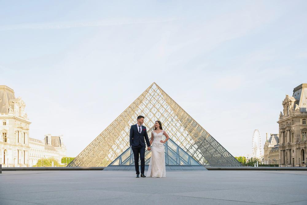 Wedding photoshoot in Paris by Pierre 48