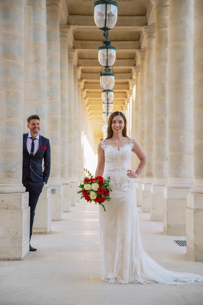 Wedding photoshoot in Paris by Pierre 53