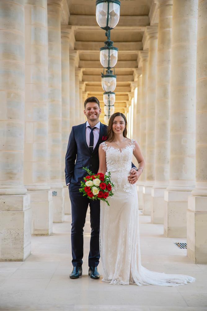 Wedding photoshoot in Paris by Pierre 54
