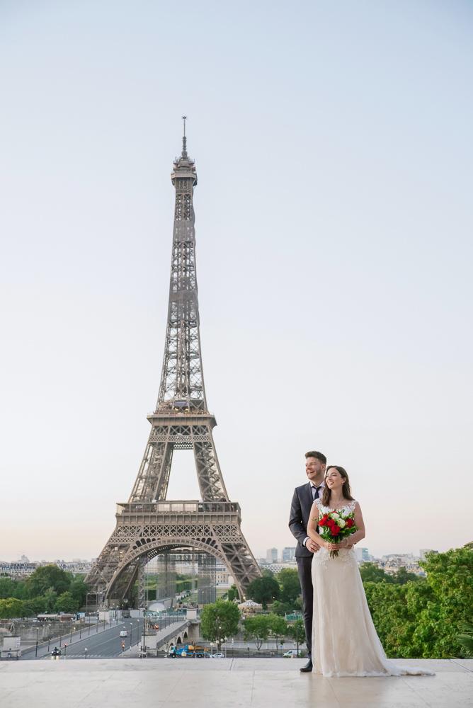 Wedding photoshoot in Paris by Pierre 7
