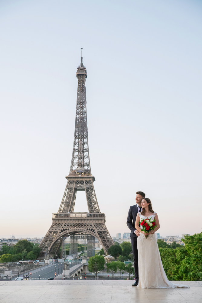 Wedding photoshoot in Paris by Pierre 8