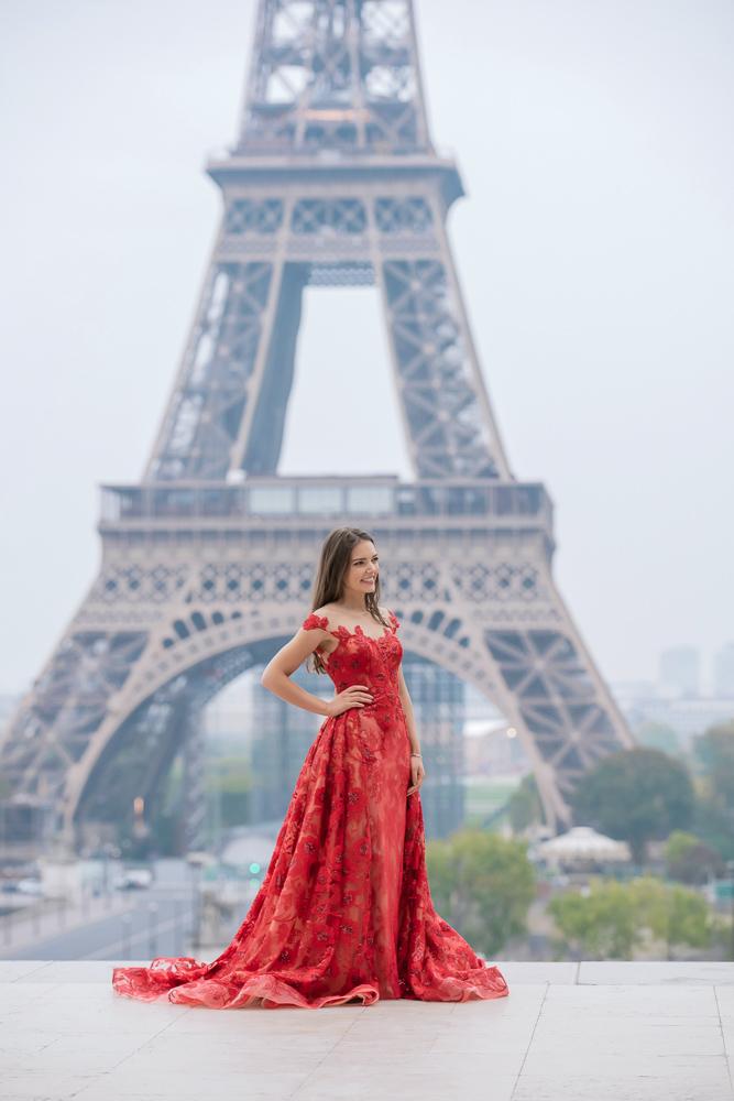 Winter wedding photoshoot in Paris by Pierre 18