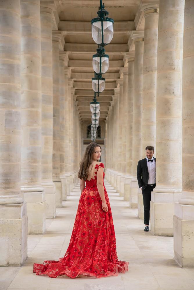 Winter wedding photoshoot in Paris by Pierre 43