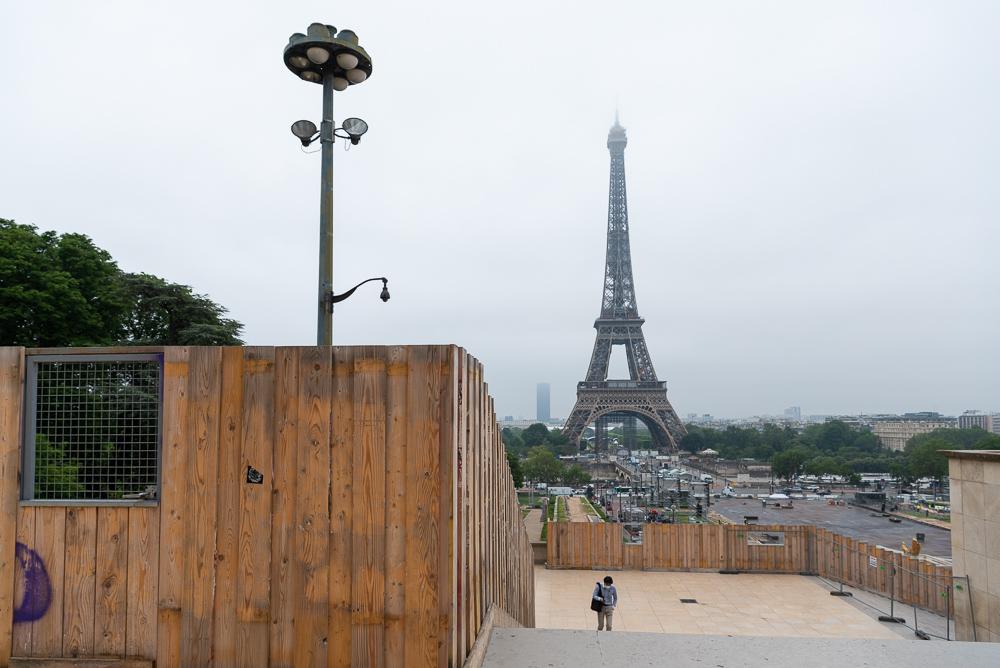 Trocadero renovations - Paris 2021