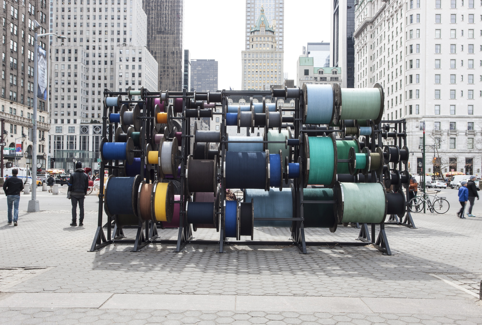 TROUV 2015.0004 Central Park 2015 Install 8
