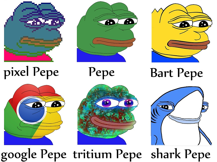 How Much For That Pepe Scenes From The First Rare Digital Art Auction