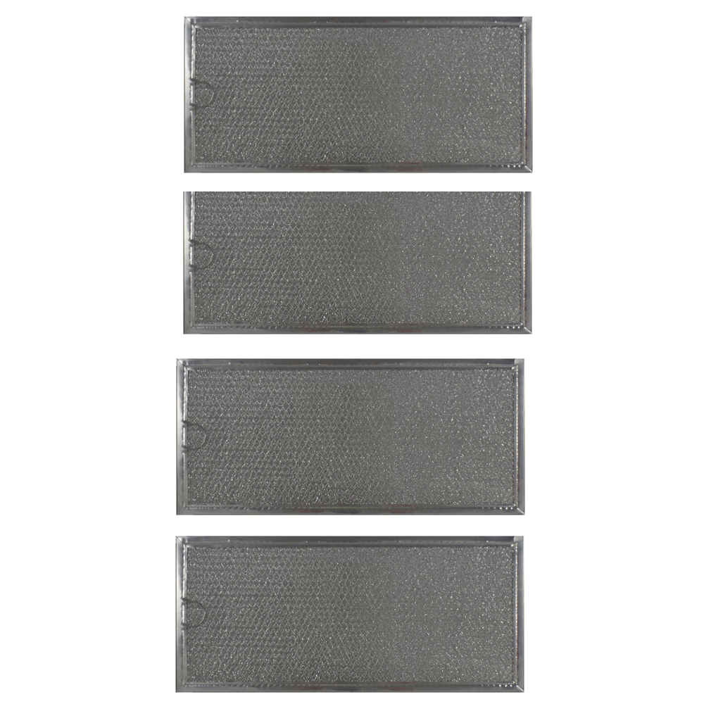 4 compatible ge grease microwave oven filter part wb06x1059