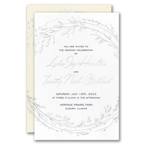 25th Wedding Anniversary Invitations Wording