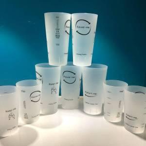 Festival style glassware