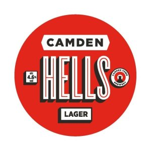 Camden Hells Lager By The Keg