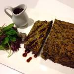 Lentil Loaf (using Puy Lentils aka French Style Lentils)
