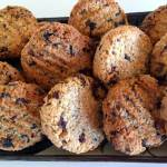 Honey, Coconut and Oat Cookies (dairy free, egg free, nut free, refined sugar free)