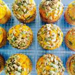 Pumpkin, Honey and Lemon Muffins