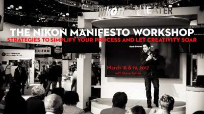 Nikon Manifesto Workshop: March 18 & 19, 2017