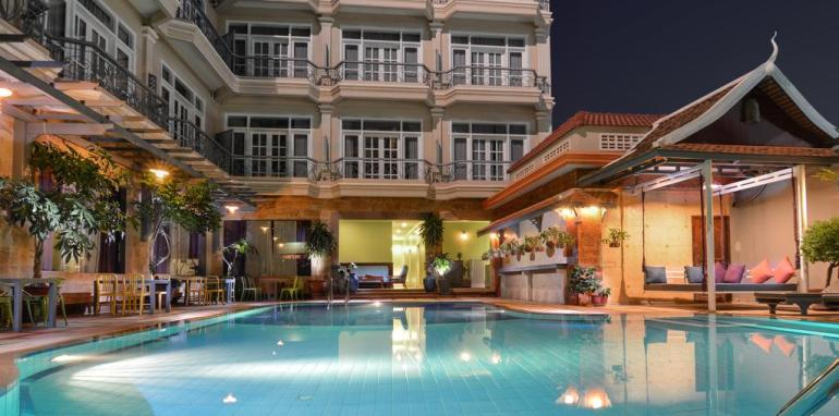 Where to stay in Cambodia - Memoire Siem Reap