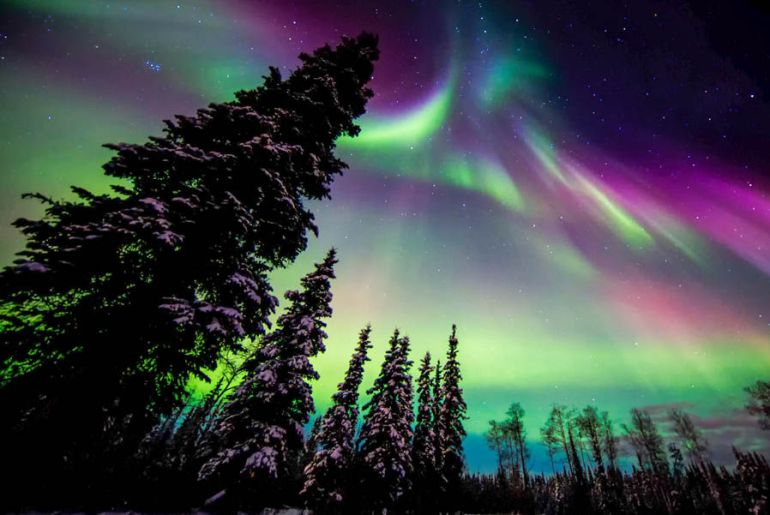 photograph the northern lights