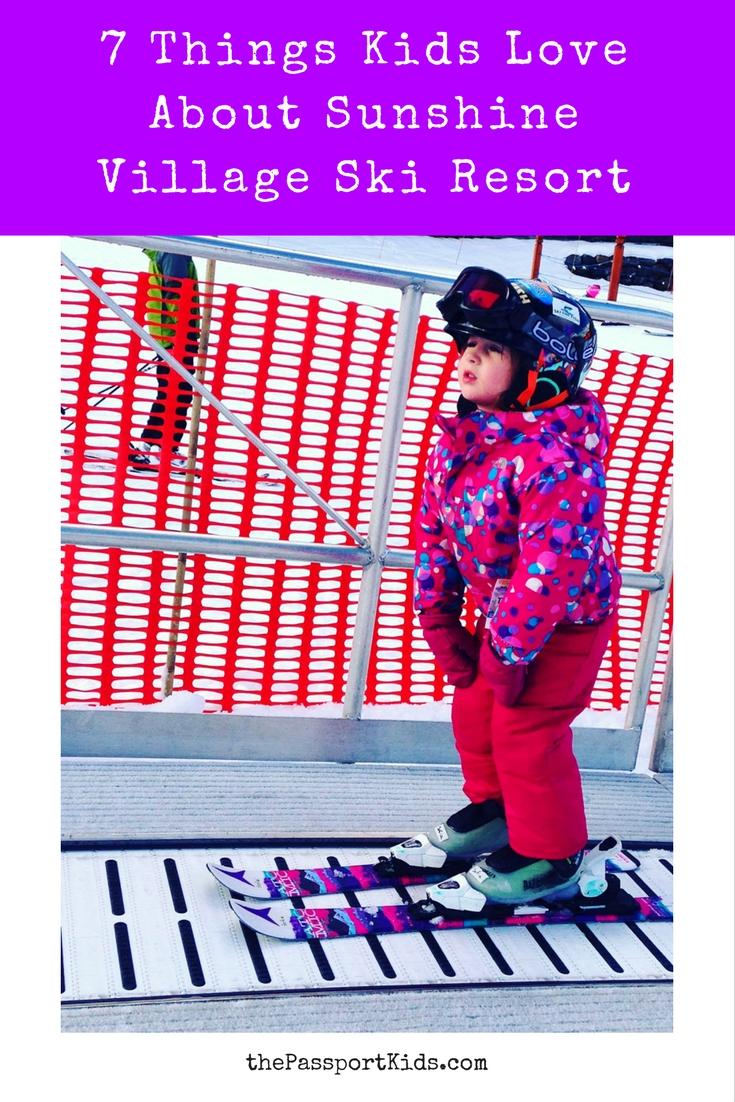 7 Things Kids Love About Sunshine Village Ski Resort