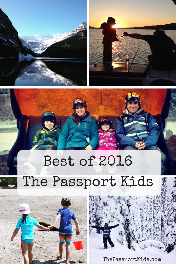 Best of 2016 for The Passport Kids