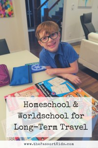 Homeschool & Worldschool for Long-Term Travel
