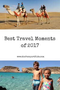 Best Travel Moments of 2017