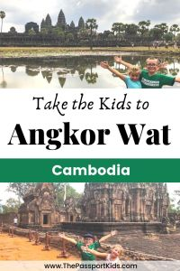 Find out the best things to do in Siem Reap with kids. Including everything you need to know about visiting Angkor Wat with kids and visiting Cambodia with kids. Which temples to visit, what to expect at Angkor Wat, what else there is to do in Siem Reap and so much for you to plan your family trip to Siem Reap. #siemreap #angkorwat #cambodia #sunrise #temple #familytravel #kidtravel #travelwithkids