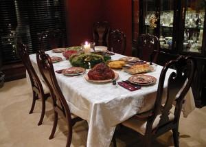 3. Make dinner time sacred