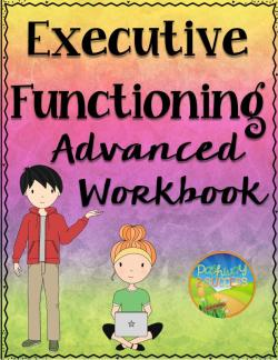 Teach all executive functioning skills with a no-prep workbook.