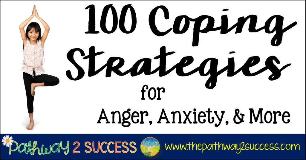 100 coping strategies and skills to help kids and teens learn to manage their emotions, anxiety, and anger on the spot. Use this free list as a tool to help people manage stress.