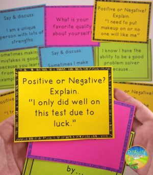 Positive Thinking Task Cards