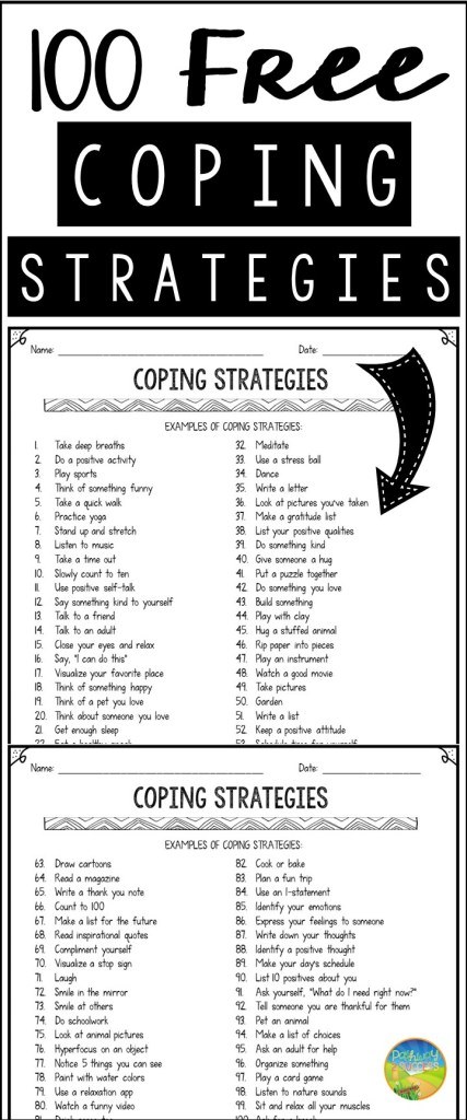 Free coping strategies list to help kids and teens learn to manage their emotions, anxiety, and anger on the spot. Give kids and young adults the skills they need!