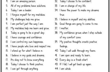 How to Teach Positive Self-Talk