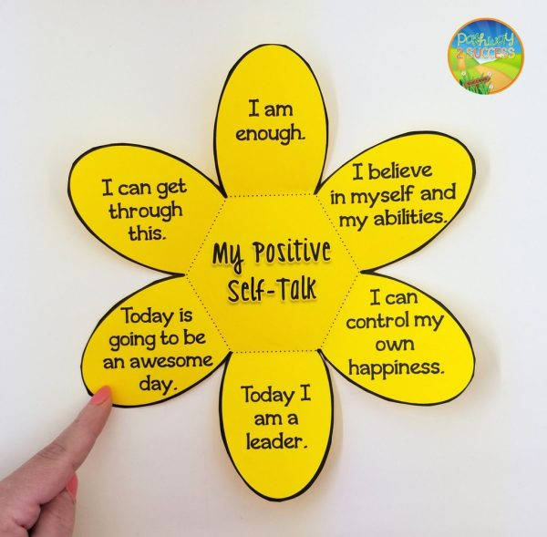 Incorporate hands on crafts as a way to teach critical skills like positive self-talk. Read up on this and more ways to integrate social emotional learning in the classroom. SEL activities and ideas can be applied at the preschool, elementary, middle, and high school levels!
