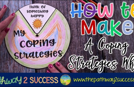 How to Make a Coping Strategies Wheel