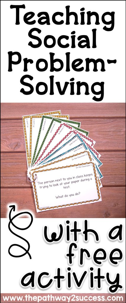 Social Problem Solving with a Free Activity