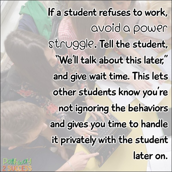 Student Vouchers Arent Working Heres Why >> What To Do When A Student Refuses To Work