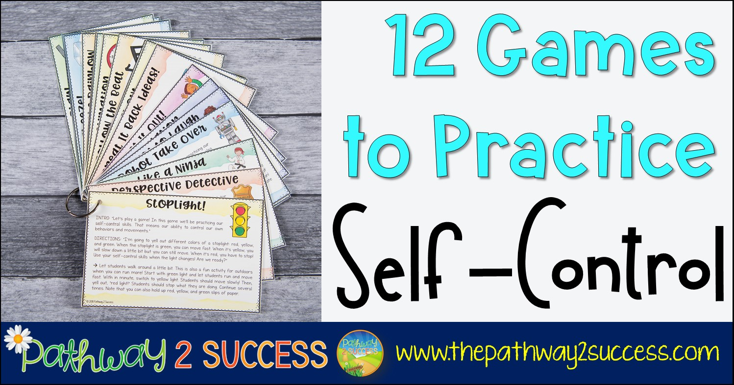 12 Games To Practice Self Control
