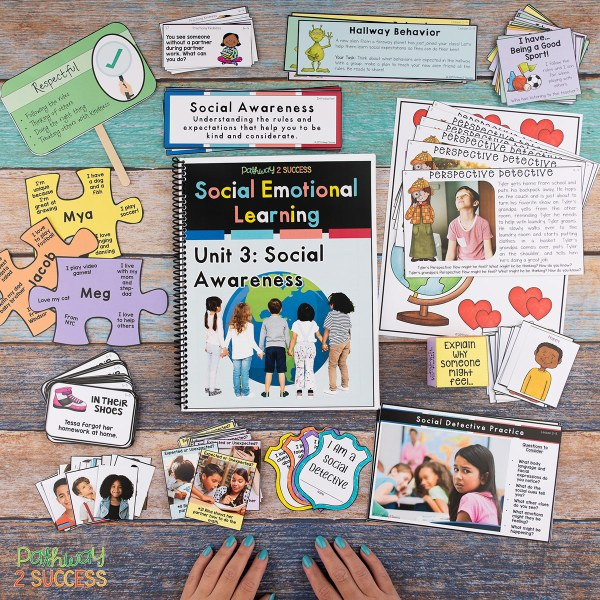 100+ Read aloud short stories to integrate social emotional learning into the classroom. Elementary teachers and even middle school educators can use these texts to discuss SEL skills like empathy, friendships, emotions, decision-making and more. Read and grab your free printable list! #sel #socialemotionallearning #pathway2success