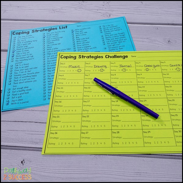 Coping strategies challenge