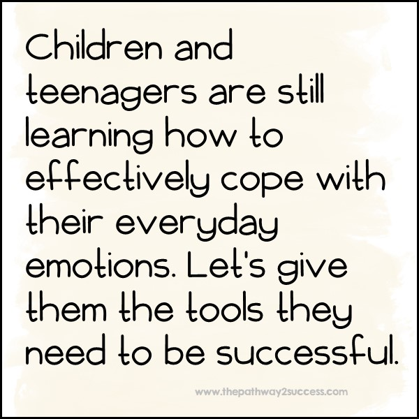Give kids the tools they need to manage their emotions.