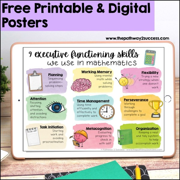 Executive Functioning Academic Posters