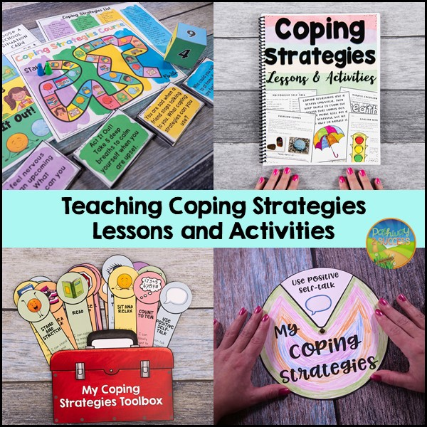 Coping strategies activities and resources for kids and teens of all ages!