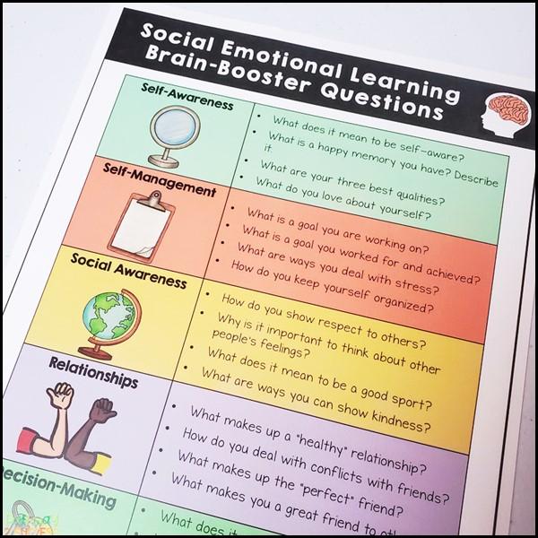 Free Social Emotional Questions