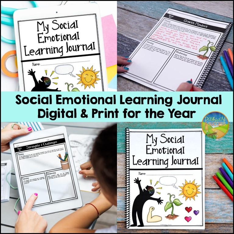 Social emotional learning journal for the year