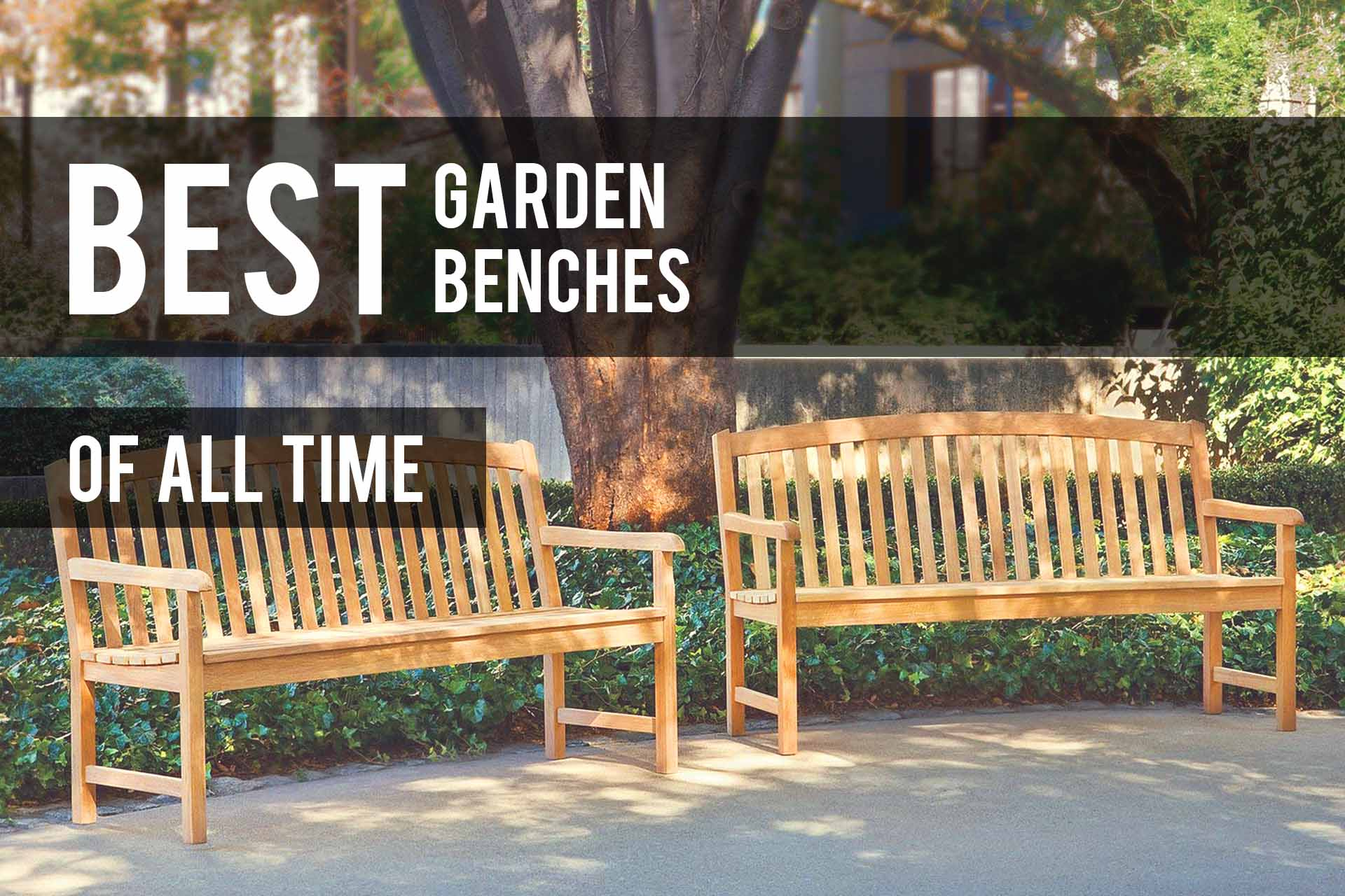 Cool Best Garden Benches 2019 Reviews Comparison The Patio Pro Lamtechconsult Wood Chair Design Ideas Lamtechconsultcom