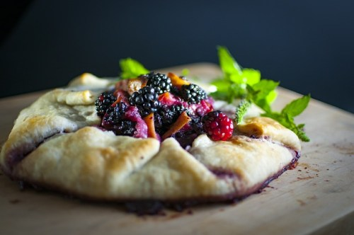 Gluten Free Blackberry Galette