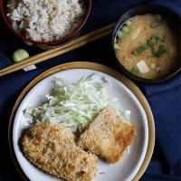 Baked Chicken Katsu and Fish Katsu
