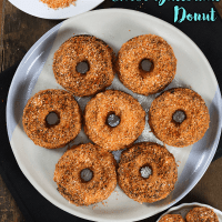 KETO Choco Butternut Donut (Low Carb, 1g Sugar/Serving)