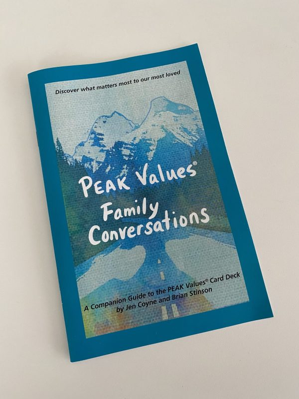 Picture of PEAK Values Family Conversations Guide
