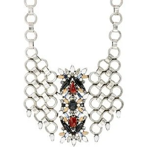 This Oversized Chain-Linked Necklace from Polyvore is very unique.